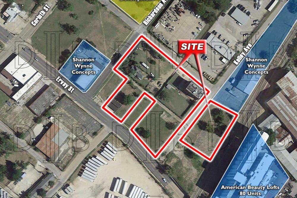 Dallas – SWQ – S. St. Paul St. & Richardson Ave.
