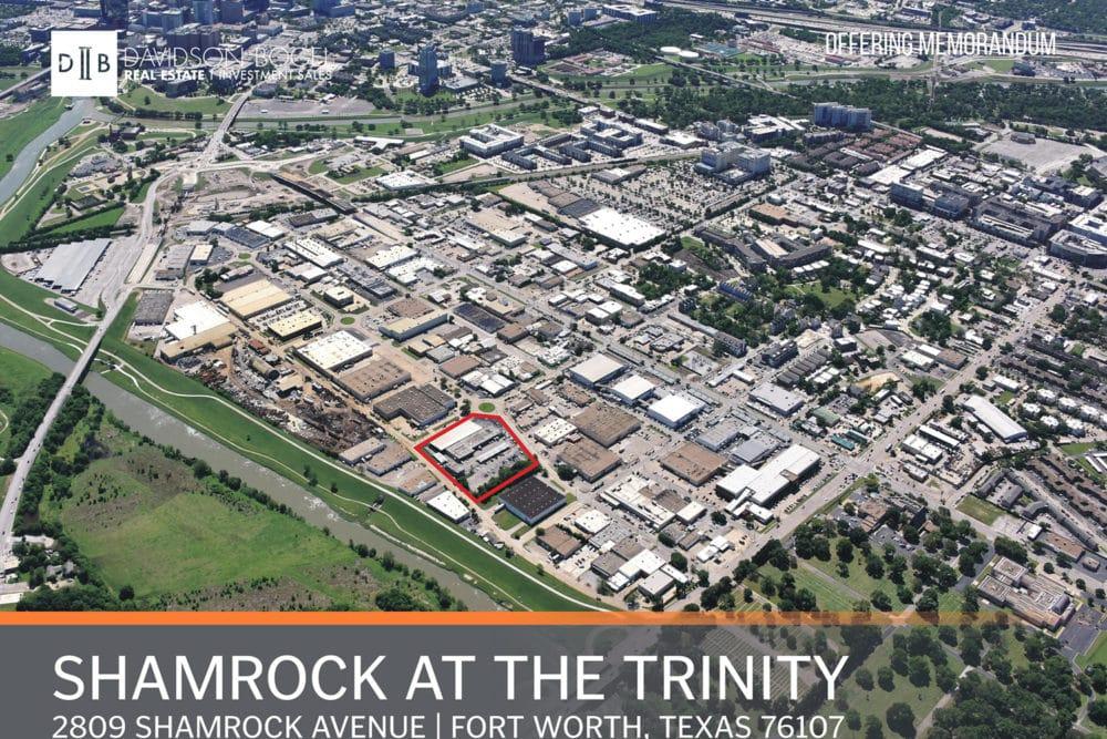 Shamrock at the Trinity