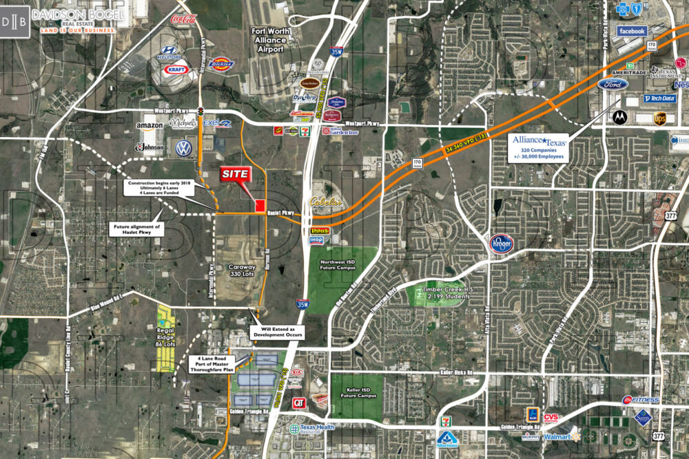 Haslet – NWC – Harmon Rd. & Future Haslet Pkwy.