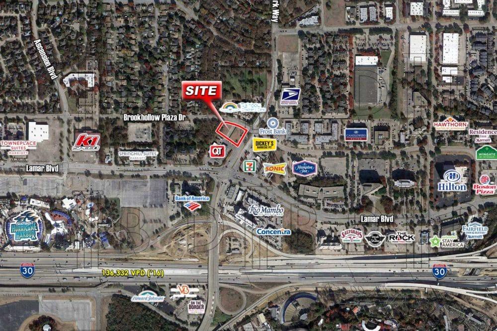 Arlington – SWC – Ballpark Way & Brookhollow Plaza Dr.