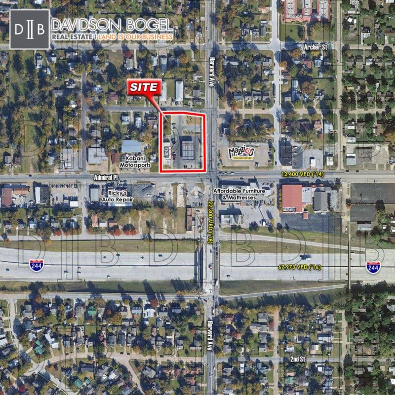 1.534 AC @ NWC N. Harvard Avenue & Admiral Place – Tulsa, OK</a>
