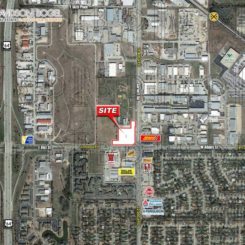 2.468 AC – NWC S. Garnett Road & E. 61st Street – Tulsa, OK</a>