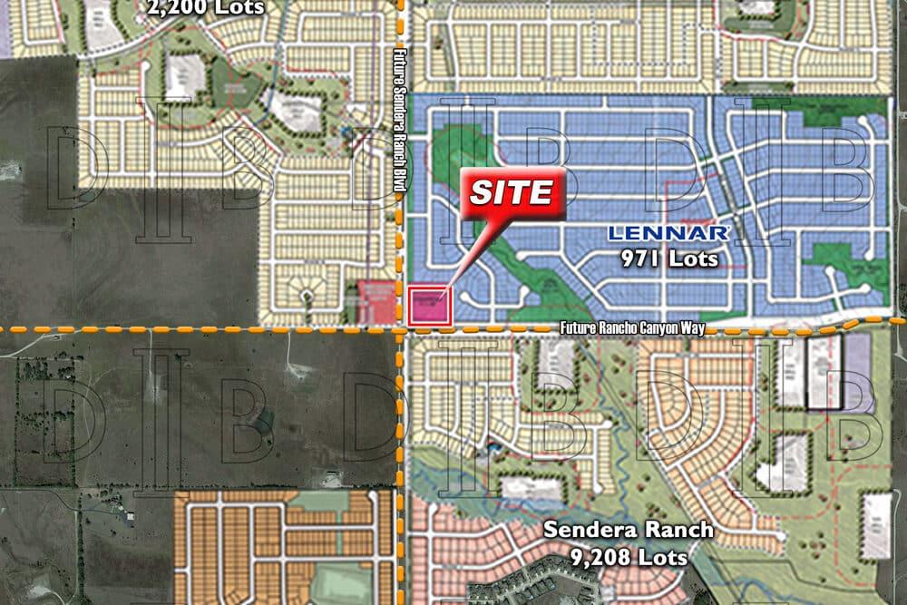 Fort Worth – NEC – Future Sendera Ranch Blvd. & Future Rancho Canyon Way