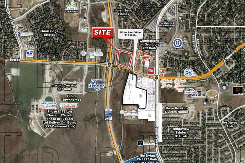 "Fort Worth – NEC – Chisholm Trail Pkwy. & Dirks Rd. ""Altamesa"""