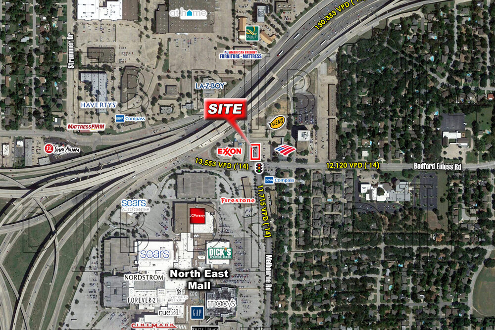 North Richland Hills – NEQ – W. Bedford Euless Rd. & Blackfoot Tr. – For Lease