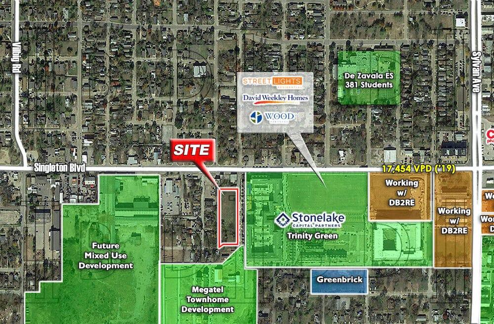 Dallas – 2819-2921 Borger St. – Trinity Green West