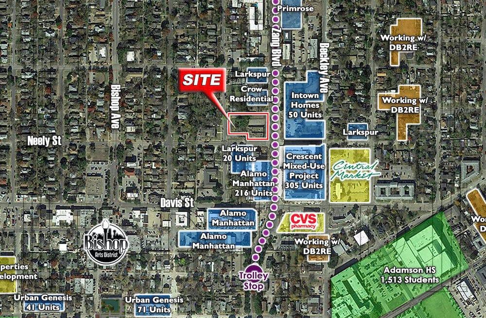Dallas – NWC – Zang Blvd. & Neely St.