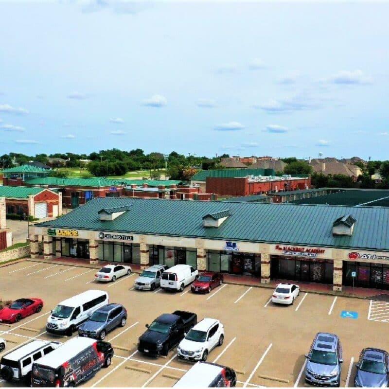 Prosper Trail Shopping Center</a>