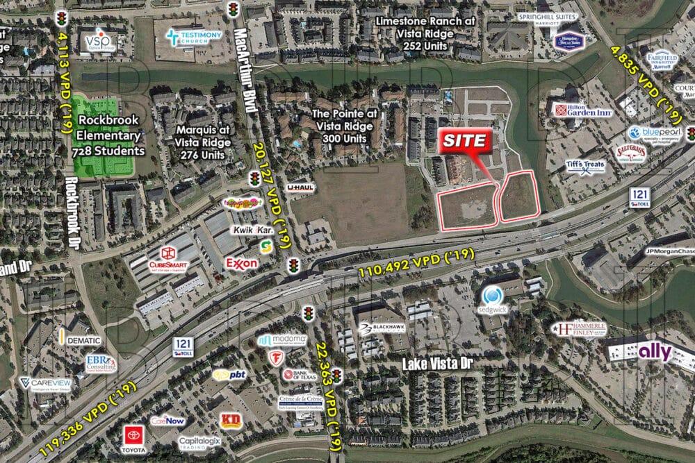 Lewisville – NEQ – S.H. 121 & MacArthur Blvd.